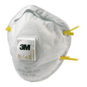 Atemschutzmaske FFP1 mit Ventil 3M 8812