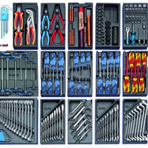 Werkbank mit 325-tlg Profi-Werkzeugsortiment