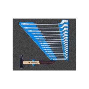 Werkzeugwagen workster smartline BLACK EDITION mit Werkzeugsortiment 172-tlg