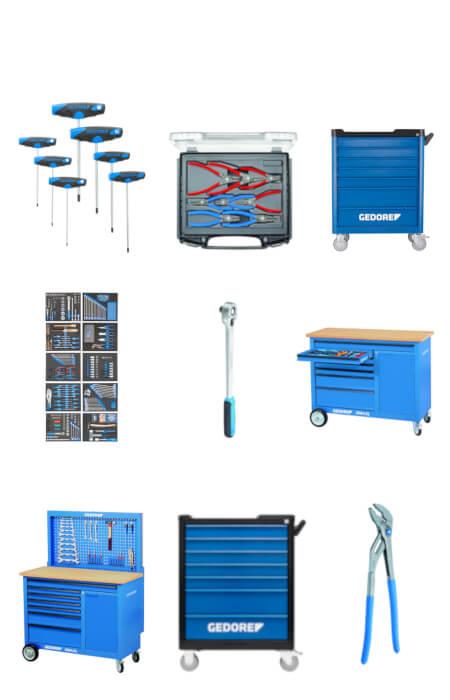 Werkzeuge und Werkbank