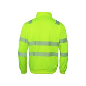 Warnschutz Sweater Half-Zip, Klasse 3, GipfelStürmer No.18