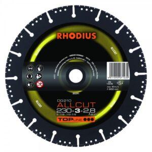 RHODIUS DG210 ALLCUT Diamanttrennscheibe 230 x 3,0 x 2,8 x 22,23mm