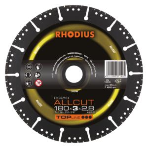 RHODIUS DG210 ALLCUT Diamanttrennscheibe 180 x 3,0 x 2,8 x 22,23mm