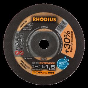 RHODIUS XT10 Extradünne Trennscheibe 180 x 1,5 x 22,23mm