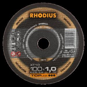 RHODIUS XT10 Extradünne Trennscheibe 100 x 1,0 x 16,00mm