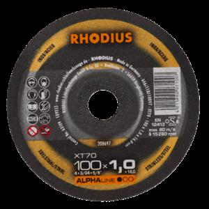 RHODIUS XT70 Extradünne Trennscheibe 100 x 1,0 x 16,00mm