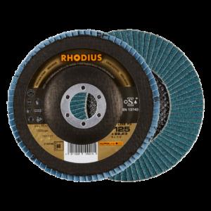 RHODIUS LGZ F3 Fächerschleifscheibe 125 x 22,23mm K60