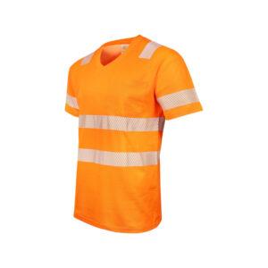Warnschutz T-Shirt mit Elastik-Reflexstreifen, Gipfelstürmer No.15