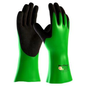 Handschuhe MaxiChem grün/schwarz