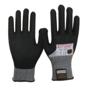 """Schnittschutz-Handschuh mit Nitril-Beschichtung, Nitras 6715 """"Taeki 5"""""""