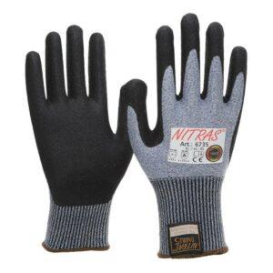 """Schnittschutz-Handschuh mit Nitrilschaum-Beschichtung, Nitras 6735 """"Taeki 5"""""""