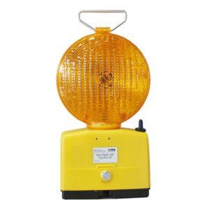 "Baustellen Blitzlampe, Nissen LED 610 ""Star-Flash"""