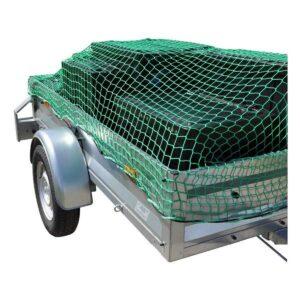 Containernetz grün, mit Rundum-Gummizug