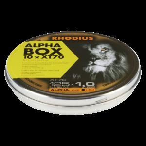 RHODIUS Trennscheibe XT70 BOX 125 x 1,0 x 22,23 Inhalt: 10