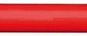 Handwerker Bleistift 175mm oval rot 12Stk.