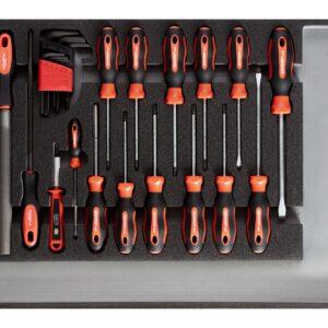 Werkzeugsatz Schraubendreher und Feilen CT-Modul 26-teilig