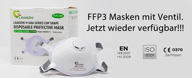 FFP3 mit Ventil